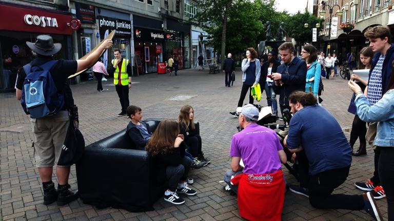Volunteering at Screen Northants