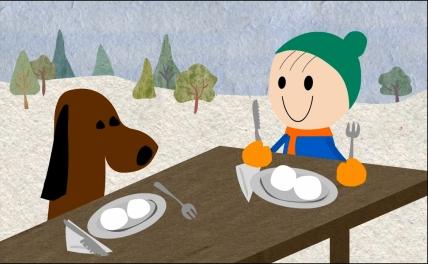 My animation: Examining the winter